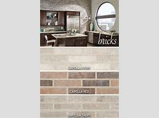 Inspired by classic brick floors and walkways, an accent wall in an urban loft, and vintage