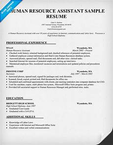 Human Resource Resume Objective All Categories Writegreat