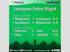 Extra Flight Lebaran! Rayakan indahnya Idul Fitri kali ini