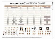 Mary Application Chart Foundation Colour Chart Mary Cosmetics Pinterest