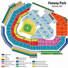 Fenway Park Seating Chart Fenway Park Boston Tickets Schedule Seating Chart