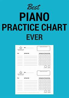 Practice Charts For Music Students Piano Teacher Resources Make Your Studio Extraordindary