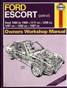 Ford Escort Haynes Manual 1980 To 1989