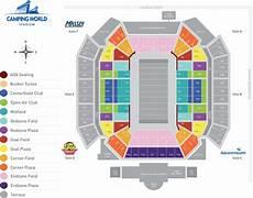Citrus Bowl 2019 Seating Chart Citrus Bowl Orlando Seating Map Www Microfinanceindia Org