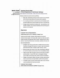 Sample Resumes For Customer Service Representative 22 Best Customer Service Representative Resume Templates