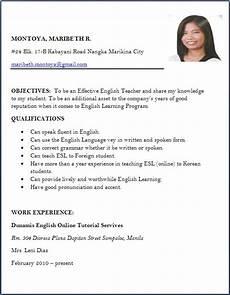 Resume Of Job Application Resume Format For Freshers Job Application Letter Sample