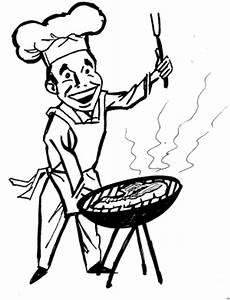 Malvorlagen Kostenlos Grillen Mann Beim Grillen Ausmalbild Malvorlage Essen Und Trinken