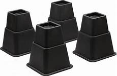 home solutions adjustable bed risers or furniture risers 5
