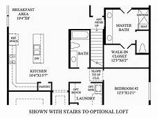 Floor Plan Stairs Toll Brothers At Inspiration Jefferson Collection The