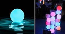 Light Up Pool Balls These Color Changing Floating Pool Light Balls Are The