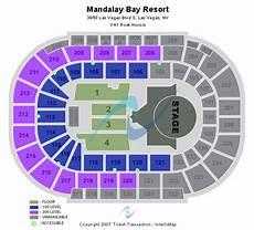 Mandalay Bay Seating Chart Mandalay Bay Events Center Seating Chart