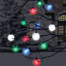 Battery Outside Christmas Tree Lights Cordless Outdoor Lighted Ornaments