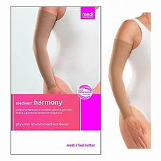 Medi Harmony Sleeve Size Chart Medi Usa Lp Harmony Arm Sleeve With Silicone Top Band 20