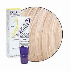 Color Brilliance Light Ash Ion Demi Permanent Hair Color Light Red Brown