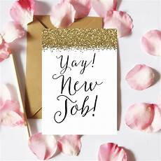 Congrats On New Job Card Yay New Job Card Printable New Job Card Congrats New Job