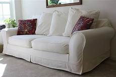 White Slip Covers For Furniture Sofa 3d Image by 2020 Best Of Denim Sofa Slipcovers