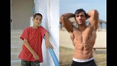 transformation from to ripped before and