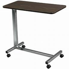 overbed table non tilt top hospital bed bedside tray