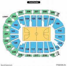 Ford Stadium Seating Chart Ford Center Seating Chart Seating Charts Amp Tickets