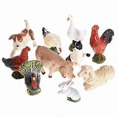 cerco animali da cortile animali da cortile 10 pz terracotta 10 cm vendita