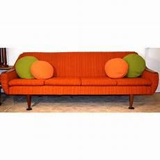 mid century modern sleeper sofa chairish