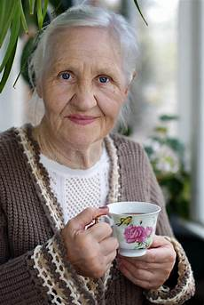 Elderly Images Free Elderly Woman With Cup Of Tea Stock Photo Image Of
