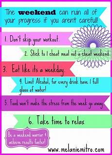 fitness tips weekend fitness tips via www melaniemitro weekend