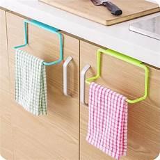 1pc door towel holder rack rail cabinet cupboard