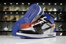 Designer Of Air Jordan 1 Off White X Fragment Design Air Jordan 1 Custom White