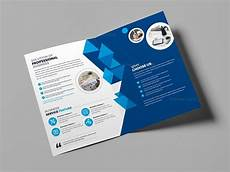 Brochure Templates For It Company Corporate Business Bifold Brochure Template 000437