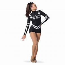 Dance Uniform Design Move U Unite Custom Dance Team Biketard Ac5349mu