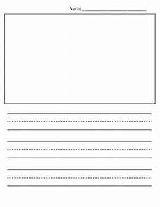 Kindergarten Paper Template This Quot Show And Tell Quot Writing Paper Template Provides
