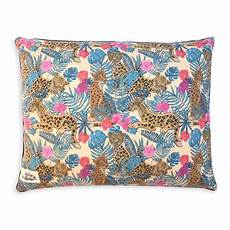 boho leopard luxe bed