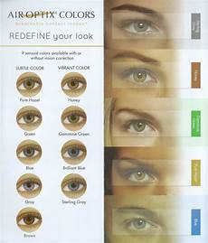Air Optix Color Chart Air Optix Colors Contact Lens Singapore