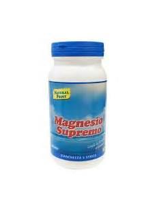 magnesio supremo capsule magnesio puro essenziale 300 g