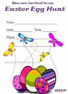 Egg Hunt Invitations Printable Easter Egg Hunt Invitations