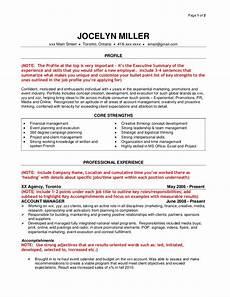 Results Oriented Resume Sample Agency Resume