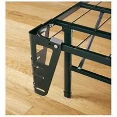 greenhome123 size folding metal platform bed frame
