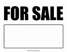 For Sale Sign Pdf Printable For Sale Sign Free Printable Signs