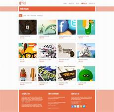 Portfolio Psd Template Free Download Free Jetro Psd Amp Responsive Html Template Free Download