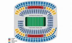 Gillette Stadium Soccer Seating Chart New England Patriots Home Schedule 2019 Amp Seating Chart