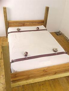 bed restraints leather restraints hospital
