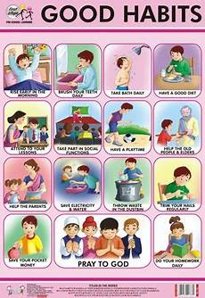 Good Habits Chart For School Good Habits Chart In Rithala Manners For Kids Good