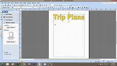 Examples Of An Itinerary How To Make A Trip Itinerary Using Microsoft Publisher