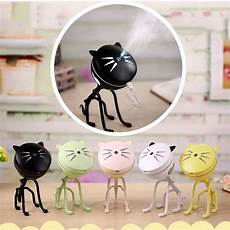 Cat Night Light Usb Home 150ml Portable Cute Cat Usb Led Glowing Night Light