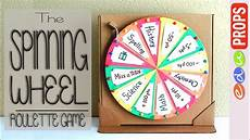 Diy Prize Wheel The Roulette Game How To Make A Spinning Wheel Out Of