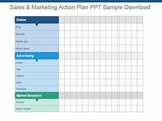 Sales And Marketing Plan Templates Sales And Marketing Action Plan Ppt Sample Download