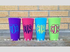 Personalized Cups Plastic Tumblers Christmas Gift
