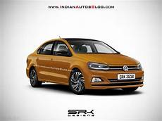 volkswagen ameo 2020 volkswagen vento facelift rendered in sporty guise launch