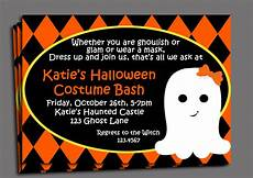 Costume Party Invites Halloween Kid S Costume Party Invitation Printable Or